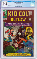 Silver Age (1956-1969):Western, Kid Colt Outlaw #124 (Marvel, 1965) CGC NM 9.4 Cream to off-whitepages....