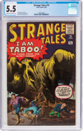 Silver Age (1956-1969):Horror, Strange Tales #75 (Marvel, 1960) CGC FN- 5.5 Cream to off-whitepages....
