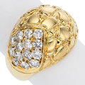 Estate Jewelry:Rings, Diamond, Gold Ring, Gucci. ...