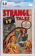 Silver Age (1956-1969):Horror, Strange Tales #82 (Marvel, 1961) CGC VG/FN 5.0 Off-white to whitepages....