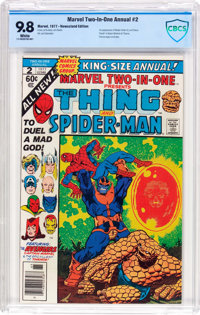 Marvel Two-In-One Annual #2 Thing and Spider-Man (Marvel, 1977) CBCS NM/MT 9.8 White pages