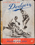 Autographs:Others, 1959 Brooklyn Dodgers Multi-Signed Yearbook (29 Signatures) - WorldSeries Champions!. ...