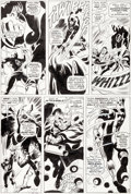 Original Comic Art:Panel Pages, Gene Colan and Frank Giacoia Daredevil #20 Story Page 19 Original Art (Marvel, 1966)....