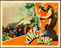 "King Kong (RKO, 1933). Lobby Card (11"" X 14"")"