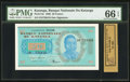 Canadian Currency:Demand Notes, Fr. 6a $10 1861 Demand Note PMG Gem Uncirculated 66 EPQ.