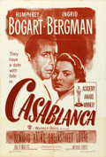 "Movie Posters:Academy Award Winners, Casablanca (Warner Brothers, R-1949). International One Sheet (27""X 41"").. ..."