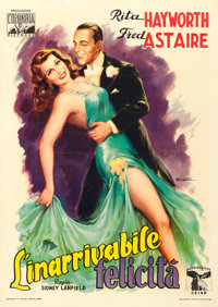 "You'll Never Get Rich (Columbia, 1946). First Post-War Release Italian 2 - Fogli (39.5"" X 55.5"") Anselmo Balle..."