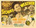 "Movie Posters:Musical, Stormy Weather (20th Century Fox, 1943). Half Sheet (22"" X 28"")....."