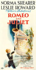"Movie Posters:Drama, Romeo and Juliet (MGM, 1936). Three Sheet (41.5"" X 79"") Ted""Vincentini"" Ireland Artwork.. ..."