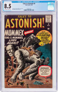 Silver Age (1956-1969):Mystery, Tales to Astonish #8 (Marvel, 1960) CGC VF+ 8.5 Off-white to whitepages....