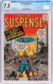 Tales of Suspense #3 (Marvel, 1959) CGC VF- 7.5 Off-white to white pages