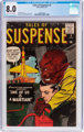 Tales of Suspense #4 (Marvel, 1959) CGC VF 8.0 Cream to off-white pages