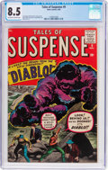Silver Age (1956-1969):Horror, Tales of Suspense #9 (Marvel, 1960) CGC VF+ 8.5 Off-white to whitepages....