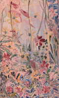 Post-War & Contemporary:Contemporary, Hunt Slonem (b. 1951). Liz Christy Garden, Houston & Bowery,N.Y.C., 1991. Oil on canvas. 38-3/4 x 23-1/4 inches (98.4 x...