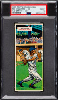 Baseball Cards:Singles (1950-1959), 1955 Topps Double Headers Ted Williams/Smith #69/70 PSA Mint 9 - Pop Two, None Higher. ...