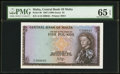 World Currency, Malta Central Bank of Malta £5 L. 1967 (1968)...
