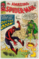 The Amazing Spider-Man #5 UK Edition (Marvel, 1963) Condition: GD
