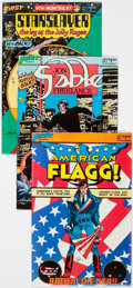 Modern Age (1980-Present):Miscellaneous, First Comics Modern Age Short Box Group (First, 1980s) Condition: Average NM-....