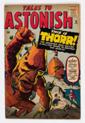 Silver Age (1956-1969):Science Fiction, Tales to Astonish #16 (Marvel, 1961) Condition: VG+....