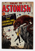Silver Age (1956-1969):Horror, Tales to Astonish #22 (Marvel, 1961) Condition: FN+....