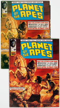 Magazines:Science-Fiction, Planet of the Apes Magazine #1 UK Edition Group of 2 (Marvel,1974).... (Total: 2 Items)