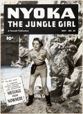 Original Comic Art:Miscellaneous, Fawcett Artist Nyoka the Jungle Girl #55 Production CoverOriginal Art (Fawcett, 1951)....
