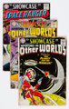 Showcase #15-19 Science Fiction Group (DC, 1958-59) Condition: Average FR.... (Total: 5 Comic Books)
