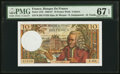 World Currency, France Banque de France 10 Francs 5.1.1967 Pick 147b.. ...