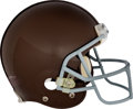 Football Collectibles:Helmets, 2010 Aaron Rodgers Game Worn Green Bay Packers Throwback Helmet--Super Bowl Championship Season.. ...