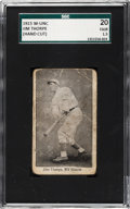 Baseball Cards:Singles (Pre-1930), 1915 W-Unc Jim Thorpe SGC 20 Fair 1.5 - The Only Example Known! . ...