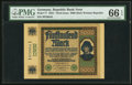World Currency, Germany Republic Treasury Note 5000 Mark 16.9.1922 Pick 77.. ...