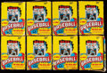 Baseball Cards:Unopened Packs/Display Boxes, 1986 O-Pee-Chee Baseball Unopened Boxes Lot of 13.... (Total: 13items)