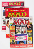 Magazines:Humor, Worst From Mad Group of 8 (EC, 1960-67) Condition: AverageFN/VF.... (Total: 8 Comic Books)