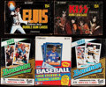 Baseball Cards:Unopened Packs/Display Boxes, 1978-93 Multi-Sport Sets/Unopened Boxes Collection (15).... (Total: 15 items)