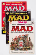Magazines:Mad, More Trash from Mad Group of 8 (EC, 1958-69) Condition: Average FN+.... (Total: 8 Comic Books)