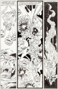 Original Comic Art:Panel Pages, Todd McFarlane Amazing Spider-Man #312 Story Page 19Original Art (Marvel, 1989)....