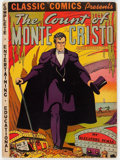 Golden Age (1938-1955):Classics Illustrated, Classic Comics #3 The Count of Monte Cristo - First Edition(Gilberton, 1942) Condition: Apparent VG+....