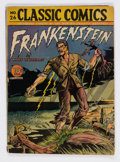Golden Age (1938-1955):Classics Illustrated, Classic Comics #26 Frankenstein - First Edition (Gilberton, 1945) Condition: GD....