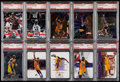 Basketball Cards:Lots, 1994-2003 Shaquille O'Neal PSA Gem Mint 10 Graded Collection(10)....
