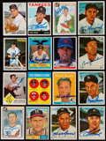 Autographs:Sports Cards, 1958-84 Signed Baseball Card Collection (16) Plus Extras. ...