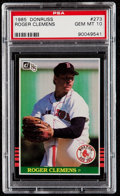Baseball Cards:Singles (1970-Now), 1985 Donruss Roger Clemens #273 PSA Gem Mint 10....