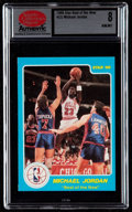 """Basketball Cards:Singles (1980-Now), 1986 Star Co. """"Best of the New"""" Michael Jordan #2 SCD NM/MT 8. ..."""