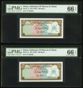 Canadian Currency:Demand Notes, Fr. 1a $5 1861 Demand Note PMG Gem Uncirculated 66 EPQ.