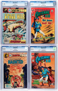 Bronze Age (1970-1979):Miscellaneous, Charlton Bronze to Modern Age CGC-Graded Group of 4 (Charlton,1972-83).... (Total: 4 Comic Books)