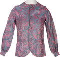 Music Memorabilia:Memorabilia, Beatles Apple Boutique Psychedelic Silk Jacket, Circa 1968....