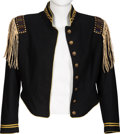 Music Memorabilia:Costumes, Tom Petty Stage Worn Cavalry Jacket (Circa 2000)....
