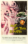Movie Posters:Science Fiction, Not of This Earth (Allied Artists, 1957). One Shee...