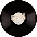 "Music Memorabilia:Recordings, Beatles/The Beat Brothers ""My Bonnie / Why"" 78 RPM One-Side Acetate from Germany (1961)...."