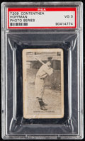 Baseball Cards:Singles (Pre-1930), 1910 T209 Contentnea (Photo Series) Hoffman PSA VG 3....