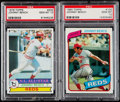 Baseball Cards:Singles (1970-Now), 1979 & 1980 Topps Johnny Bench PSA Gem Mint 10 Graded Pair(2)....